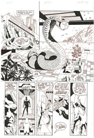 James Bond Serpent's Tooth, Book One, page 32, black and white <BR>Thanks to Rasmus Paaske Larsen, Denmark