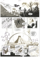 James Bond Serpent's Tooth, Book Three, page 38, black and white <BR>Thanks to Rasmus Paaske Larsen, Denmark