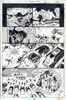 Outlaws issue #3, page 42, black and white