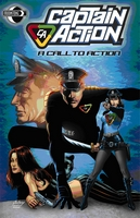 Captain Action, TPB, cover