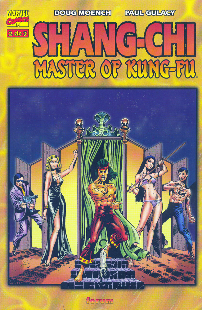 Master of Kung Fu Spanish copy, issue #2, cover