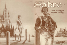 Sabre Graphic Novel, first printing